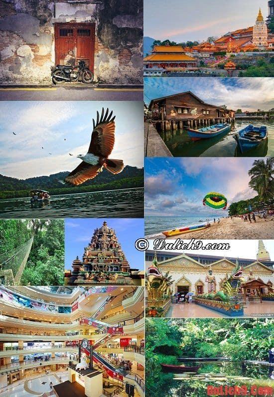 Những điểm du lịch nổi tiếng phải đến khi du lịch Penang