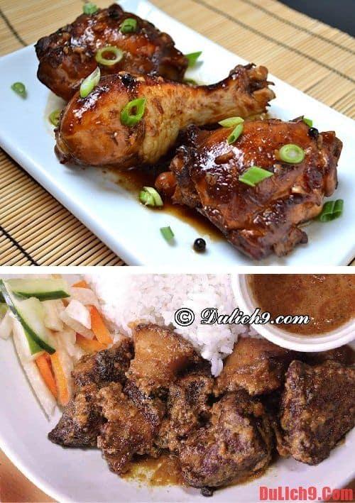 Adobo - Du lịch Philippines và nếm thử những món ăn độc đáo, hấp dẫn