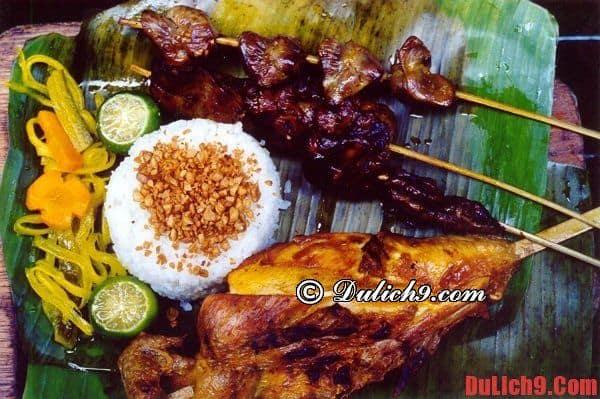 Du lịch Philippines thưởng thức món ngon đặc sản nổi tiếng và hấp dẫn
