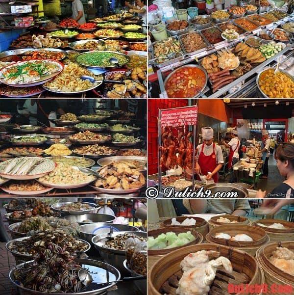 Những món ăn ngon, độc đáo ở Khu phố ẩm thực Chinatown