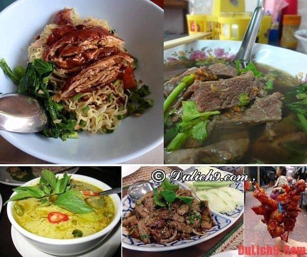 Du lịch và khám phá những món ăn ngon đặc sản Thái Lan qua các khu chợ ẩm thực truyền thống khi du lịch Bangkok