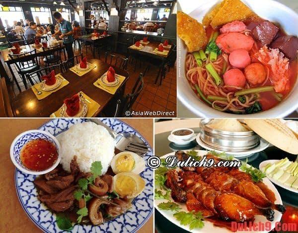 Bang Khun Non - Địa điểm ăn uống ngon, thú vị và chất lượng nhất Bangkok, Thái Lan