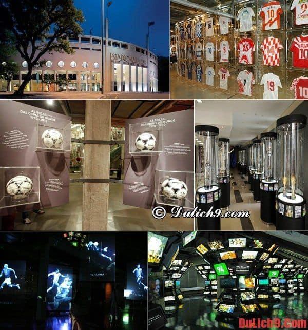 Bảo tàng bóng đá Futebol - Địa điểm tham quan nổi tiếng và hấp dẫn nhất định phải ghé qua khi du lịch Sao Paulo