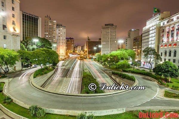 Những địa điểm du lịch nổi tiếng ở Sao Paulo