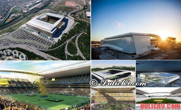 Sân vận động Arena Corinthian - Điểm du lịch độc đáo không thể bỏ qua khi tham quan Sao Paulo
