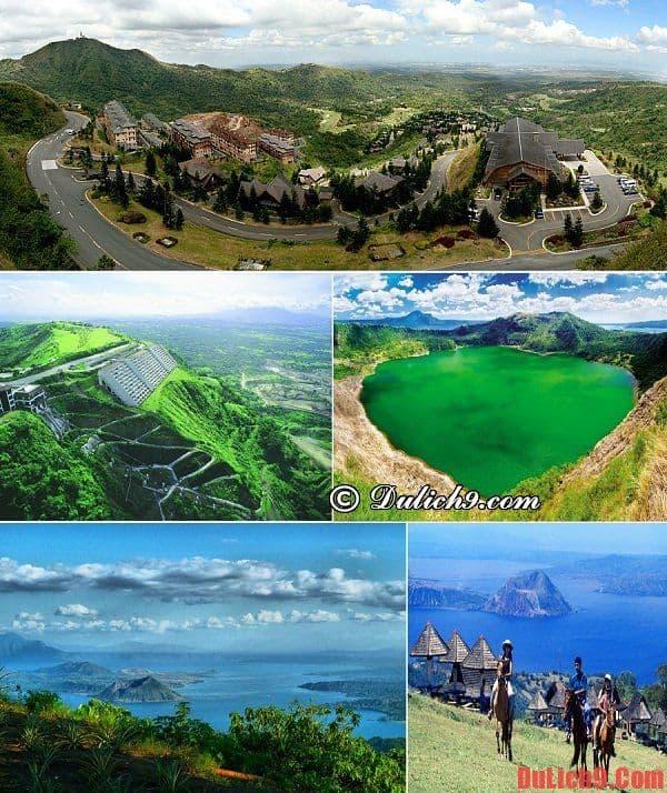 Cao nguyên Tagaytay - Thiên đường du lịch tuyệt vời nhất Philippines