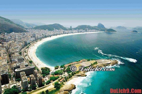 Bãi biển Copacabana - Du lịch Rio de janeiro khám phá điểm đến tuyệt vời nhất