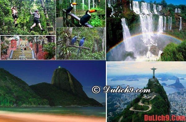 Vườn quốc gia rừng Tijuca - Du lịch Rio de janeiro, Brazil khám phá địa điểm du lịch nổi tiếng và độc đáo