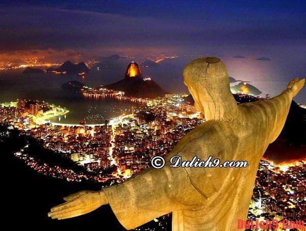 Những tham quan nổi tiếng nên đến nhất khi du lịch Rio de janeiro, Brazil