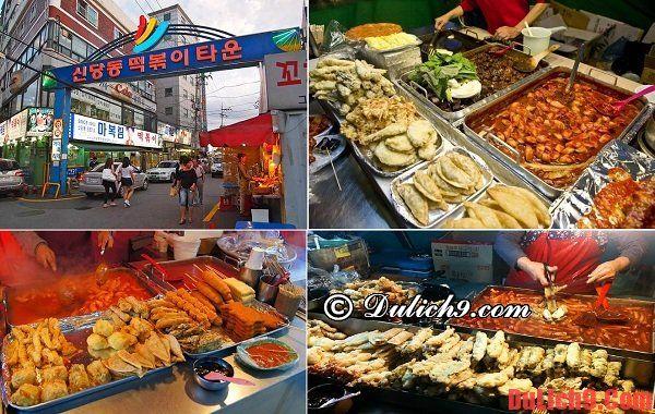 Phố Tteokbokki Sindang-dong ở Seoul - Khu phố ẩm thực đường phố nổi tiếng và hấp dẫn nhất Hàn Quốc