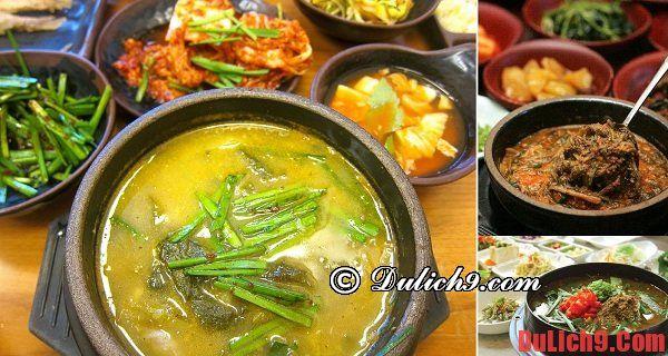 Phố Chueotang ở Namwon - Khu phố ẩm thực độc đáo nên đến nhất khi du lịch Hàn Quốc tự túc ăn uống