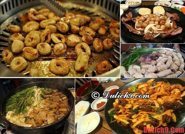 Phố Gopchang ở Anjirang - Du lịch Hàn Quốc ăn uống và khám phá ẩm thực truyền thống ngon, bổ rẻ ở đâu?