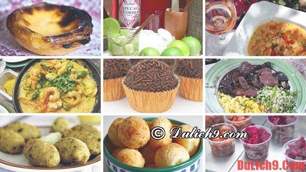 Du lịch Brazil khám phá và thưởng thức những món ăn đường phố nổi tiếng nhất