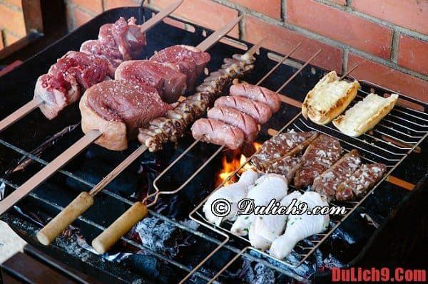 Churrasco - Du lịch Brazil thưởng thức món ăn đường phố phổ biến và hấp dẫn nhất