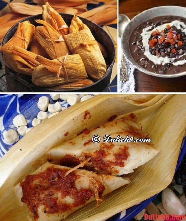 Bánh ngô Tamales - Món ăn truyền thống được yêu thích nên ăn nhất khi du lịch Cuba