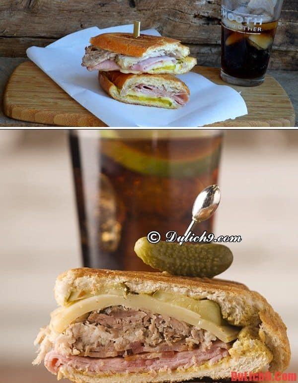Cuba Sandwich - Món bánh mì đặc trưng Cuba không thể bỏ qua