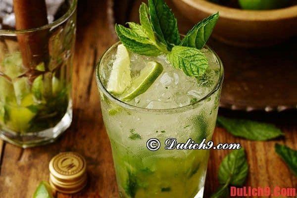 Cocktail Mojito - Thức uống ngon, nổi tiếng và được yêu thích nhất Cuba