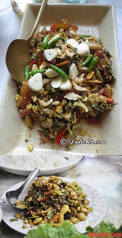 Salad trà xanh - Món ăn độc đáo và hấp dẫn nên thử một lần khi du lịch Myanmar