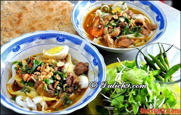 Mỳ Quảng - Món ăn sáng hấp dẫn không thể bỏ lỡ khi du lịch Đà Nẵng