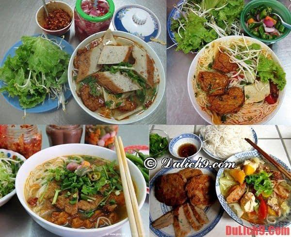 Bún chả cá - Món ăn sáng đặc trưng và nổi tiếng nhất Đà Nẵng