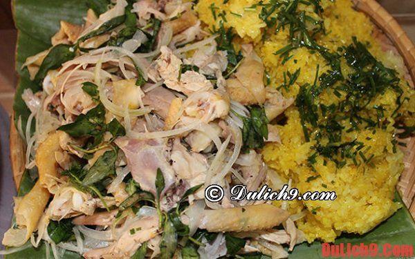 Xôi gà - Món ăn sáng lạ mà quen phải ăn khi du lịch Đà Nẵng
