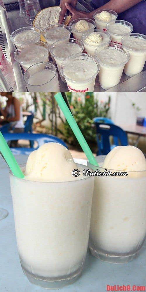 Kem sữa dừa - Món ăn đường phố ngon xóa tan cái nóng mùa hè