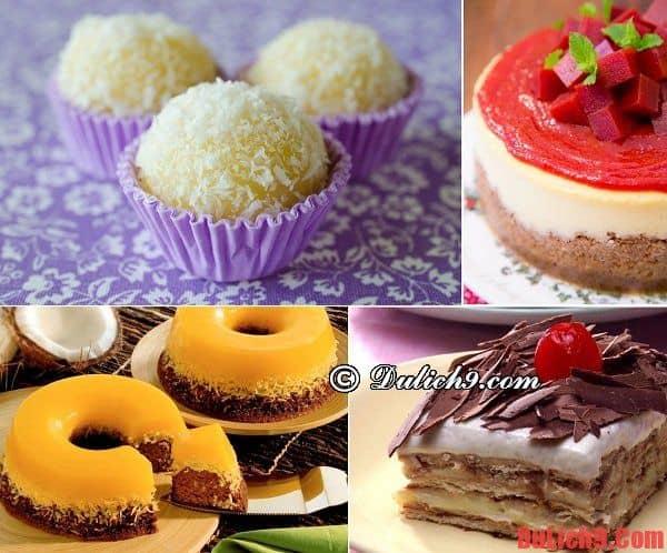 Du lịch Rio de Janeiro khám phá và nếm thử những loại bánh ngọt, bánh tráng miệng ngon nhất