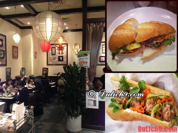 Quán Banh xeo Saigon - Địa chỉ bán bánh mì Việt Nam ngon, chuẩn vị không thể không đến khi du lịch Tokyo, Nhật Bản