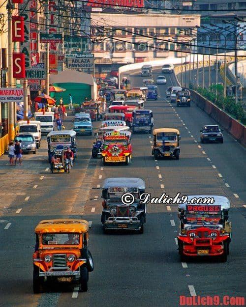 Xe Jeep - Những trải nghiệm du lịch Manila giá rẻ và thú vị không thể bỏ lỡ