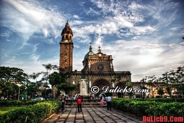 Du lịch và khám phá Manila, Philippines qua những địa danh, thắng cảnh du lịch miễn phí độc đáo và nổi tiếng