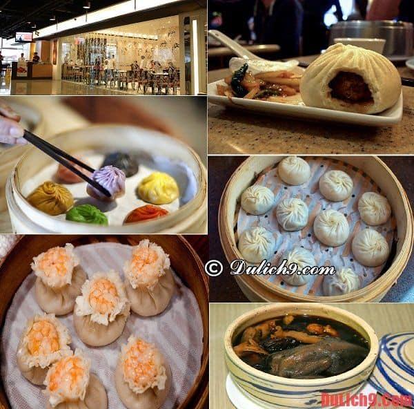 Din Tai Fung - Nhà hàng bánh bao ngon và nổi tiếng nhất Trung Quốc không thể không ghé qua khi du lịch Thượng Hải