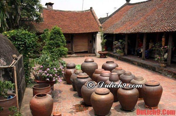 Điểm du lịch không thể bỏ qua khi du lịch làng cổ Đường Lâm