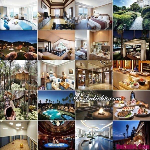 Khách sạn nổi tiếng, đẳng cấp, chất lượng và đẹp nhất đảo Jeju, Hàn Quốc