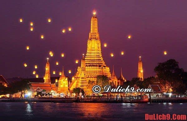 Đền thờ Bình minh Wat Arun: Điểm đến nổi tiếng không thể bỏ qua trong 24 giờ du lịch Bangkok, Thái Lan