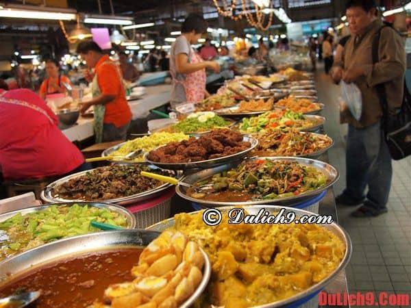 Địa chỉ ăn uống độc đáo, nổi tiếng không thể không ghé qua trong 24 giờ du lịch Bangkok