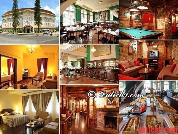 Da Lat Du Parc Hotel - Khách sạn 4 sao đẹp và tốt nhất không thể không ở khi du lịch Đà Lạt