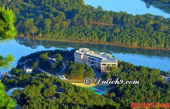 Du lịch trăng mật Đà Lạt nên ở khách sạn nào đẹp và lãng mạn nhất?