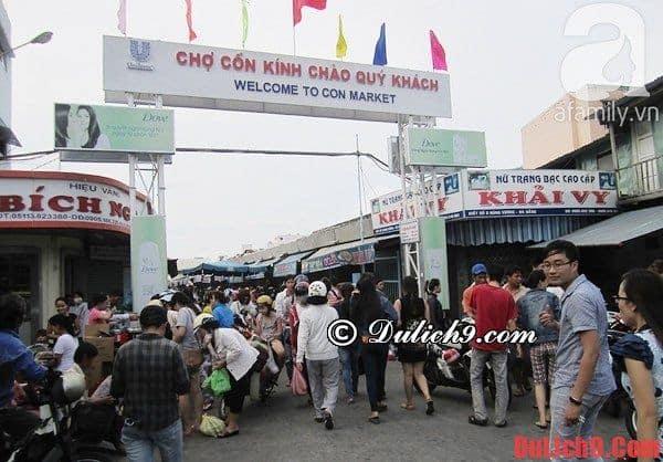 Chợ Cồn - Địa chỉ thưởng thức những món ăn ngon nổi tiếng Đà Nẵng không thể không đến