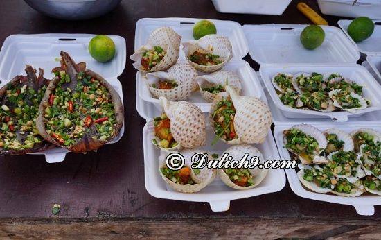 Ăn uống khi du lịch Hồ Tràm/ Địa chỉ ăn uống ngon, rẻ ở Hồ Tràm