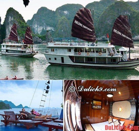 Du thuyền Hạ Long có vị trí đẹp và giá rẻ