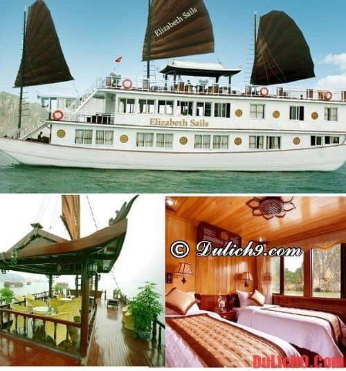 Du thuyền Hạ Long giá rẻ, đẹp và tiện nghi