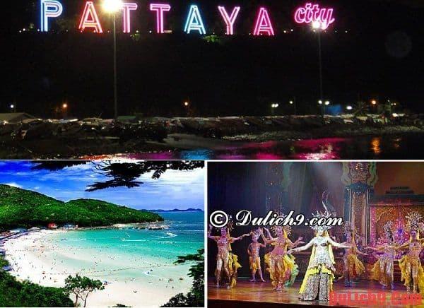 Lịch trình du lịch Pattaya 3 ngày 2 đêm tự túc