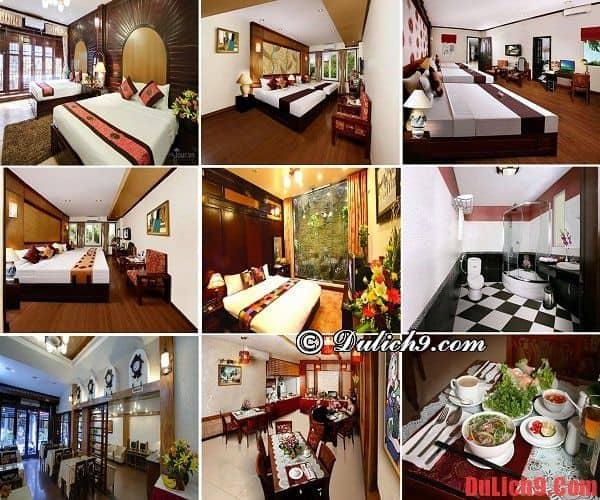 Khách sạn 3 sao độc đáo, phòng đẹp giá tốt trong khu Phố cổ nên ở khi du lịch Hà Nội