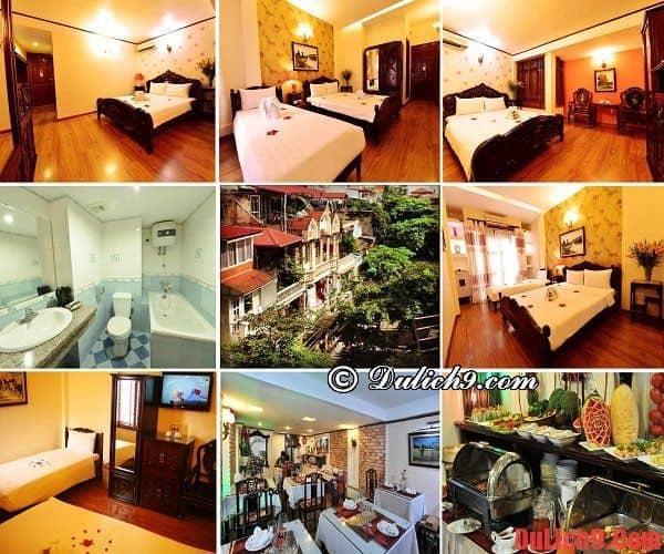 Khách sạn hiện đại, tiện nghi, phòng đẹp và giá tốt trong khu Phố cổ nên ở khi du lịch Hà Nội