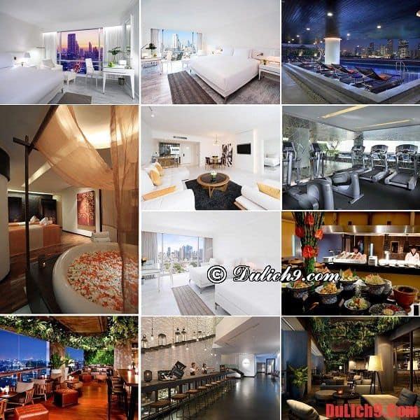 Khách sạn 5 sao gần trung tâm, giá tốt, chất lượng và được đánh giá cao ở Bangkok, Thái Lan