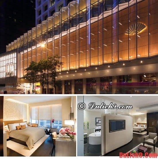 Khách sạn 5 sao có tầm nhìn đẹp ở Hồng Kông