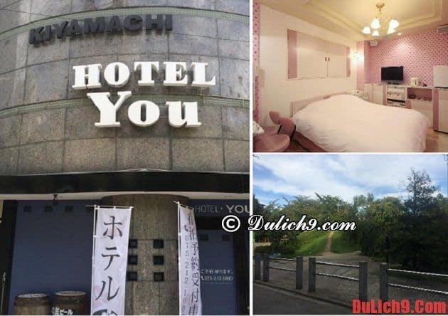 Khách sạn bình dân gần trung tâm Kyoto