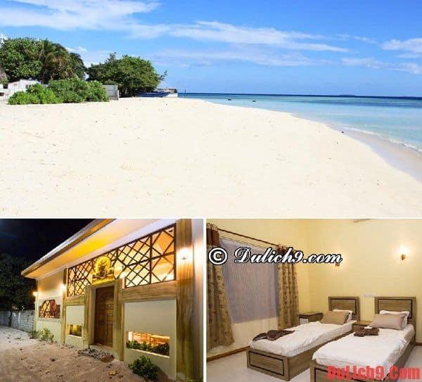 Khách sạn bình dân ở Maldives
