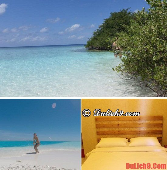 Khách sạn giá rẻ và tốt ở Maldives