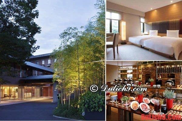 Một số khách sạn cao cấp tại Kyoto có chất lượng tốt và gần trung tâm